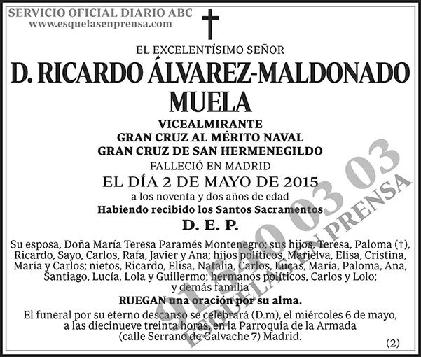 Ricardo Álvarez-Maldonado Muela